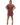 YKB00574 Mac Mini Dress Mauve Front